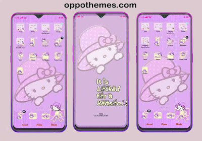 Business Model Explanation Kitty Theme For Oppo Android