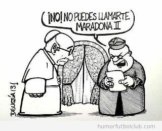 Viñeta Papa Francisco I por Deustúa