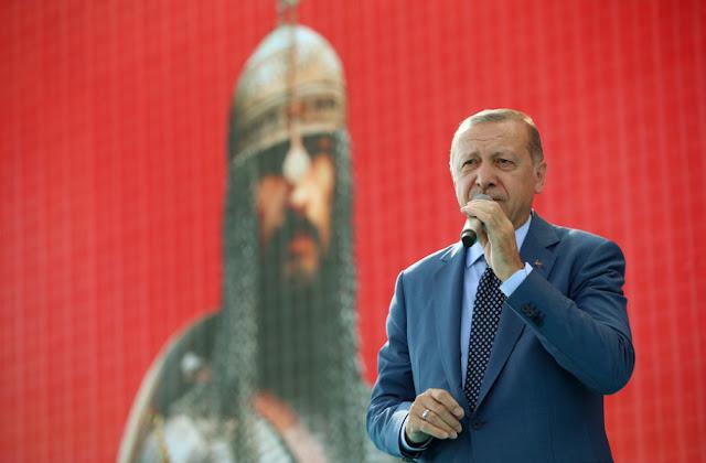 Ο Ερντογάν απειλεί την Ευρώπη με θρησκευτικό πόλεμο