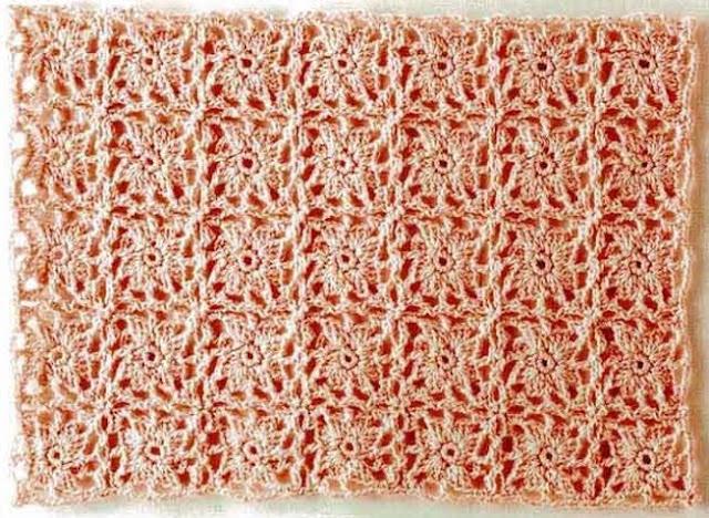 Patron #1676: Carpetita a Ganchillo