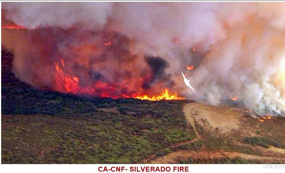 CNF Silverado Canyon Fire
