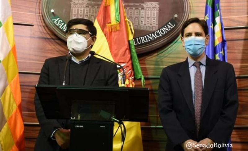El Legislativo y el TSE avanzaron acuerdos desde el fin de semana / SENADO