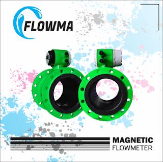 Flow meter diaplikasikan untuk mengukur debit air limbah