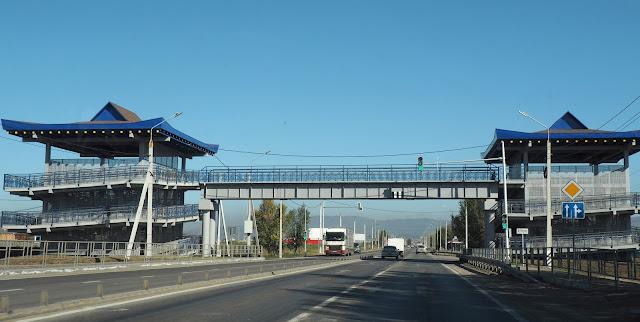 Бурятия, пешеходный мост