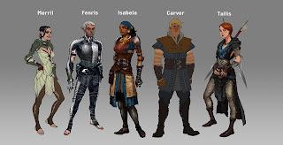Dragon Age Concept Art Book