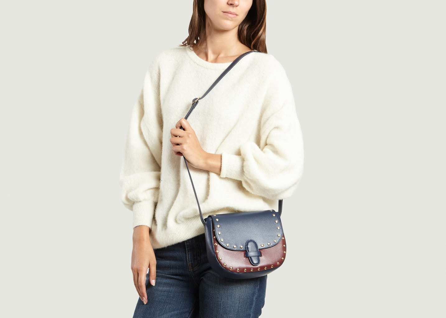Olivia Clergue saddle bag