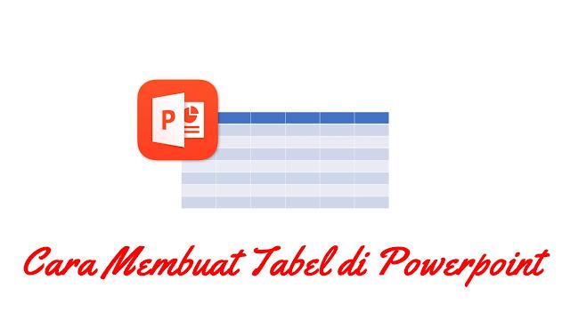 Cara Membuat Tabel di Powerpoint