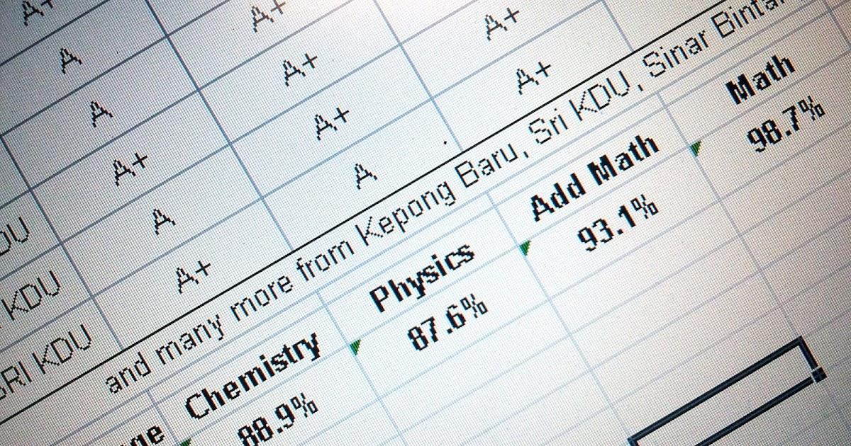 SPM 2011 Results = My Report Card Day - mr sai mun