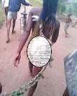 Urua Anwa girl paraded necked for stealing fowl