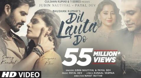 दिल लौटा दो Dil Lauta Do Lyrics in Hindi - Jubin Nautiyal