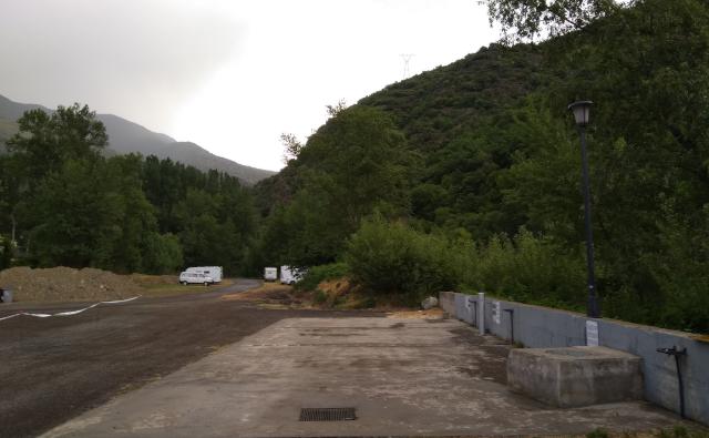 Àrea d'autocaravanes de Rialp