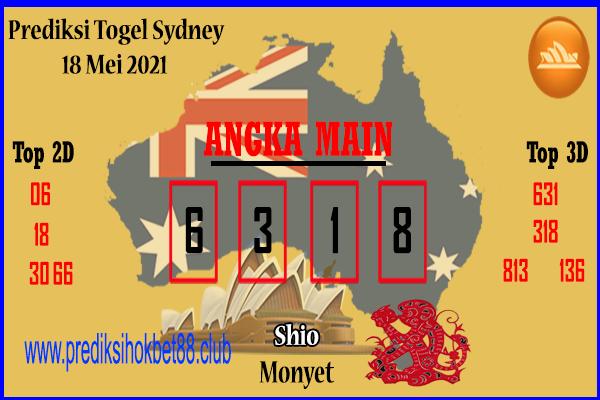 Bocoran Togel Sydney 18 Mei 2021
