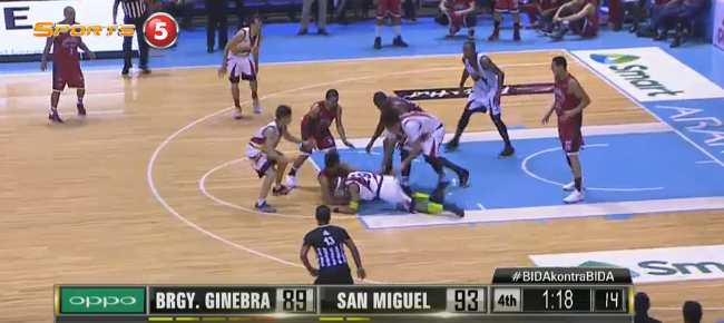 San Miguel def. Brgy. Ginebra, 95-92 (REPLAY VIDEO) September 28 - SEMIS Game 2