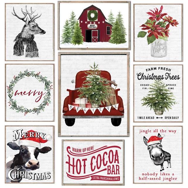 Cozy Christmas Prints