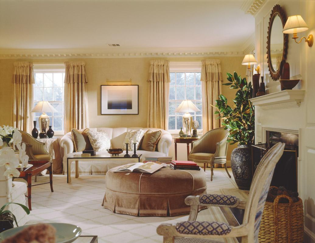 New home interior design sandra nunnerley a family house - Design my living room ...