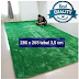 karpet bulu 280 x 265 tebal 3,5 cm rasfur isi busa empuk anti rontok