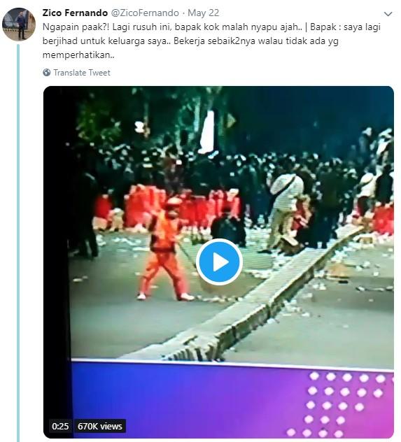 Kumpulan Tweet Netizen Kocak Tentang Aksi 22 Mei