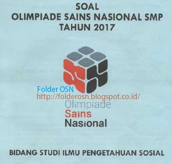 Download Soal OSK IPS SMP 2017