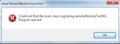 How to fix main class not found error in Eclipse
