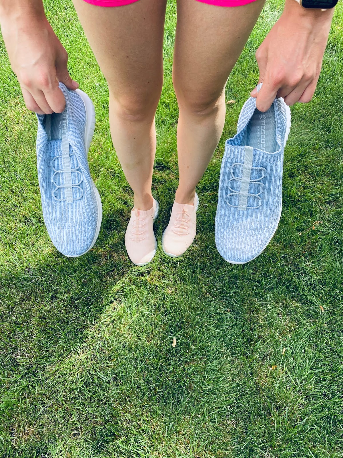 comfy shoes, cute shoes to wear while walking, cute walking shoes, grey walking shoes, love shoes, pink walking shoes, shoes, shoes for walking, tiosebon, tiosebon brand, tiosebon shoes, walking shoes,