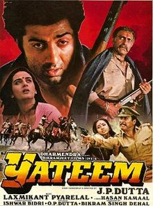Yateem 1988 Hindi 720p DVDRip 1.2GB world4ufree.ws Bollywood movie hindi movie Yateem 1988 movie 720p dvd rip web rip hdrip 720p free download or watch online at world4ufree.ws