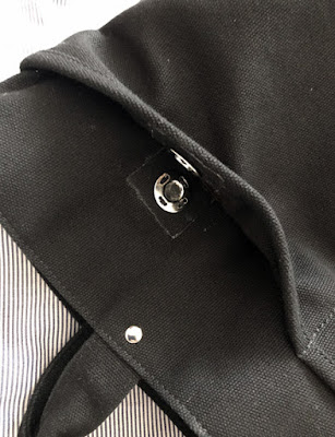 裁ほう上手で布を傷つけずにマグネットボタン付け