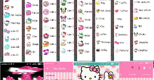 GB WhatsApp v6.40.1 Latest Update Fixed Hello Kitty Girl's Mods Edition Version Create By Fe Suarez Download Now