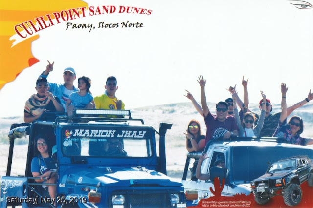Ilocos Tour Package 2 Days 1 Night - Culili Point Sand Dunes 4x4 Paoay in Ilocos Norte was actually an optional tour but glad we did it. It was a lot of fun