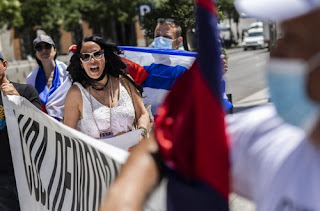 Интересы США в беспорядках на Кубе