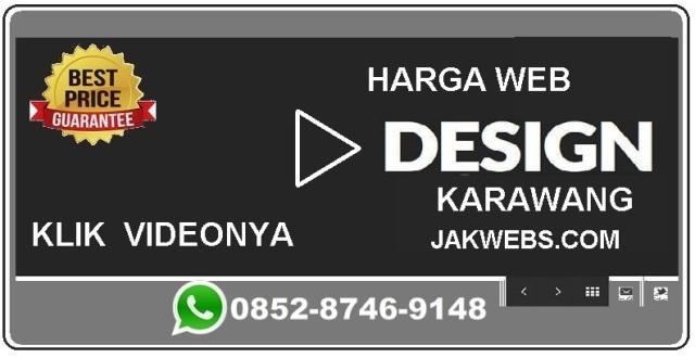 Harga jasa pembuatan website Karawang