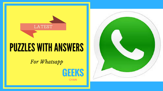 Latest Top 10 Whatsapp Puzzles Quiz With Answers 2019