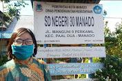 Agustin Pengan: SDN 30 Manado Buka PPDB Secara Online