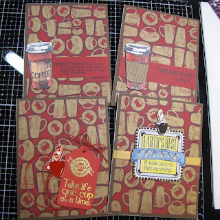 CraftyColonel Donna Nuce using Club Scrap Coffee Break Collection.