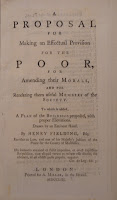 "A title page for ""A Proposal for Making an Effectual Provision for the Poor."""