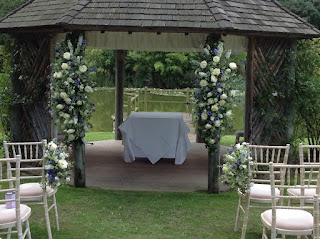 outdoor flowers, Essex weddings