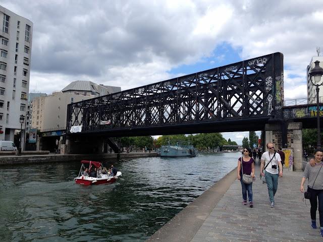 puentes de hierro canal st martin paris