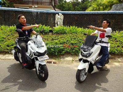 Perbandingan Desain Honda ADV150 vs Yamaha NMax
