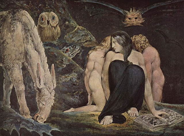 Hekate by William Blake - 1975 | Wicca, Magic, Witchcraft, Paganism