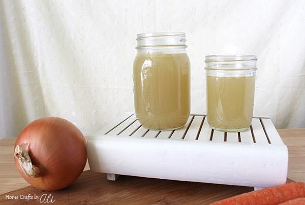homemade turkey broth recipe on home crafts by ali