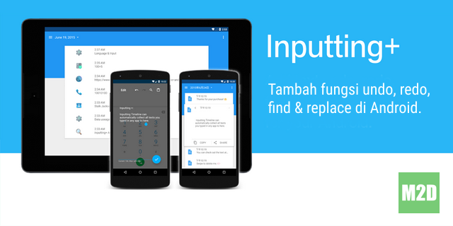 Inputting Plus Android