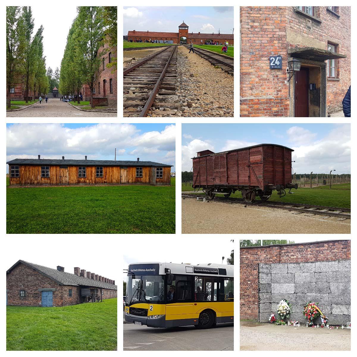 Walking Tour em Auschwitz, Polônia.