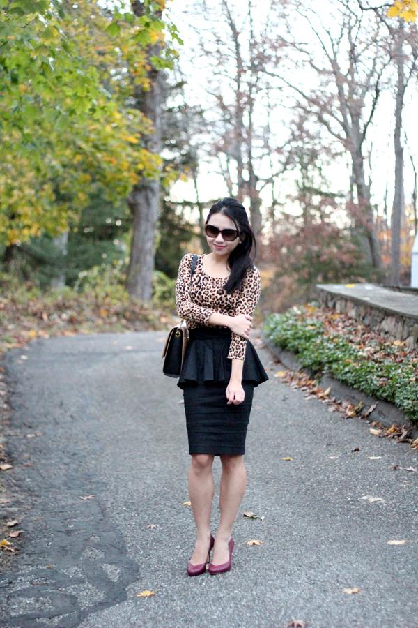 Wear It Five Ways: Leopard Print Dress