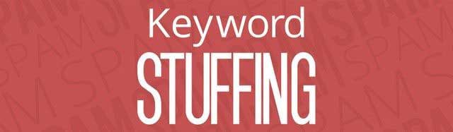 "Do not use ""accurate"" anchor texts or even keyword content, keyword stuffing"