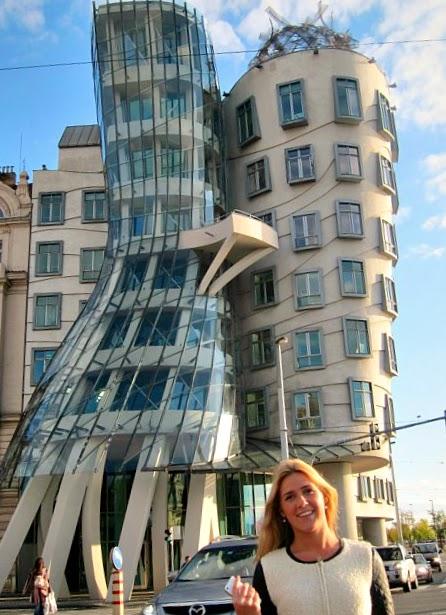 Dancing Building i Prag