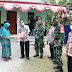 Penyerahan Kunci rumah RTLH secara simbolis Dihadiri oleh Pasi ops Kodim 0718/Pati