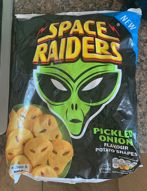 Space Raiders Pickled Onion Potato Shapes