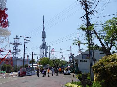 生駒山上遊園地 鉄塔