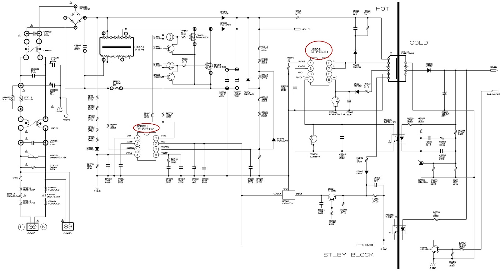 Colorful Smps Pinout Vignette - Electrical Wiring Diagram Ideas ...