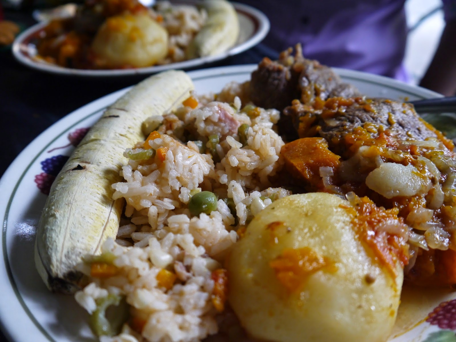 Colombian food Tolima