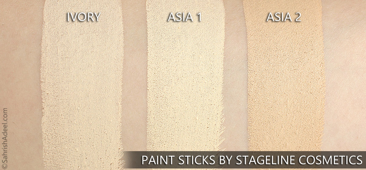 Paint Sticks by Stageline Cosmetics - Review, Swatches & Usage Guide